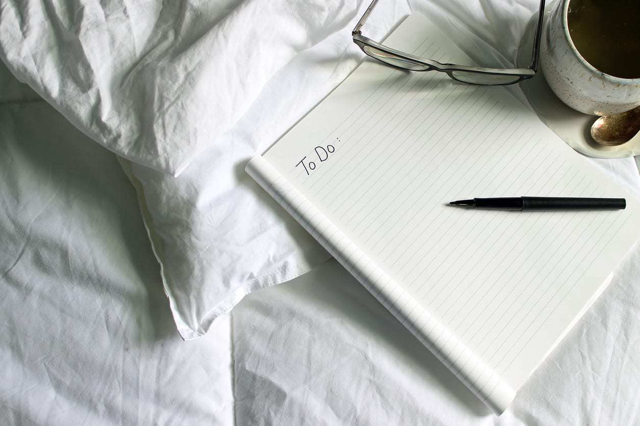 Create a To-Do List Before Bed for Better Sleep