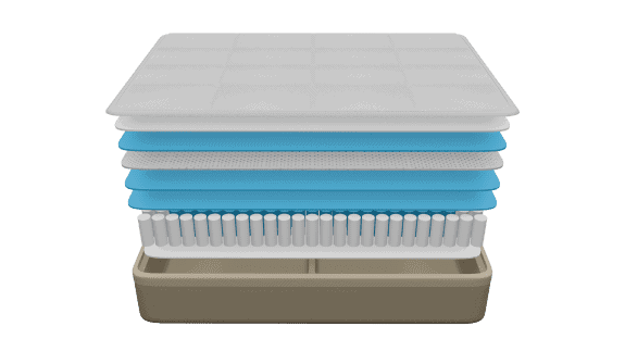 what is a luxury hybrid mattress?