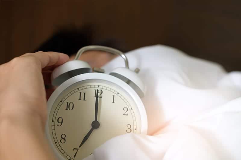 Halloween Sleep Tip # 4 - Turn your clock away
