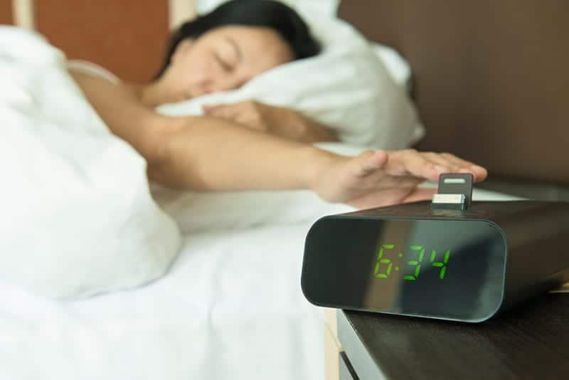 Halloween Sleep Tip # 6 - Don't hit the snooze button