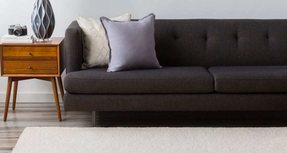 Angelica Shag Solid Area Rug From Wovenly