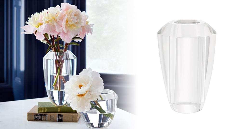 Monique Lhuillier Gwyneth Glass Vase