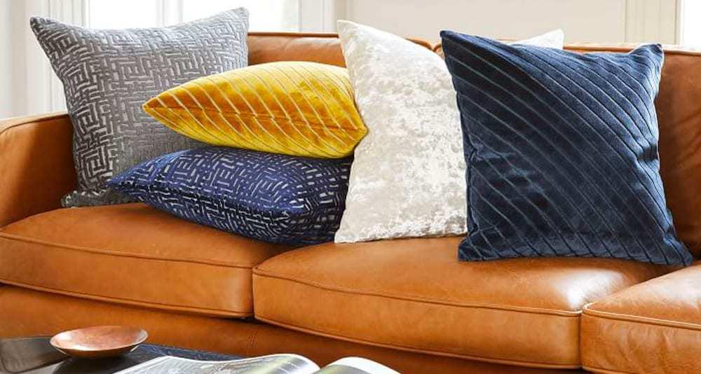 Pressed Velvet Pillow Covers