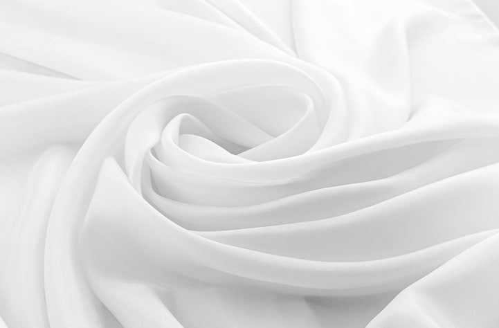 White Colored Bamboo Sheets